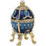 Design Toscano Die Puschkin-Sammlung: Emailliertes Ei im Faberge-Stil Natalia