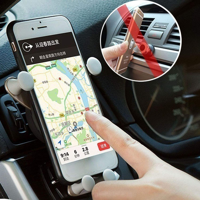Dieron Auto Mobile Phone Stand Gravity Stand Mini Cute Cartoon Porta Telefono Auto culle