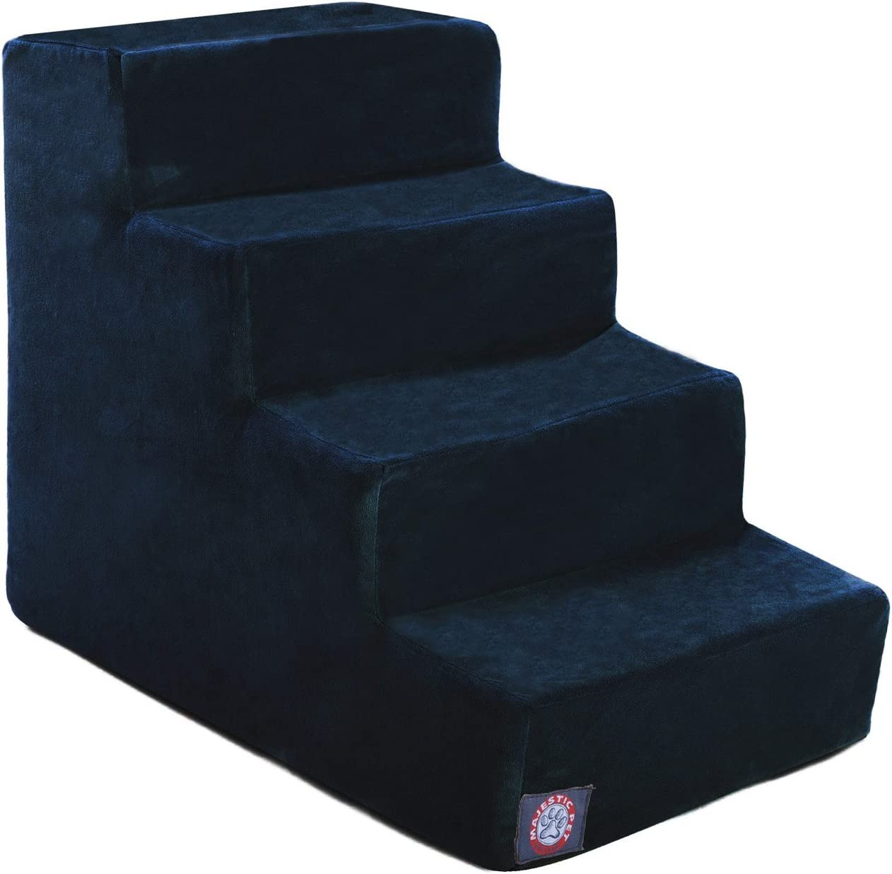 3 Step Black Velvet Suede Pet Stairs by Majestic Pet Products 71vdw4tXbGL