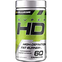 Cellucor SuperHD Weight Loss Capsules - Supplement for Men & Women With Nootropic Focus Plus 160mg Caffeine - 60…