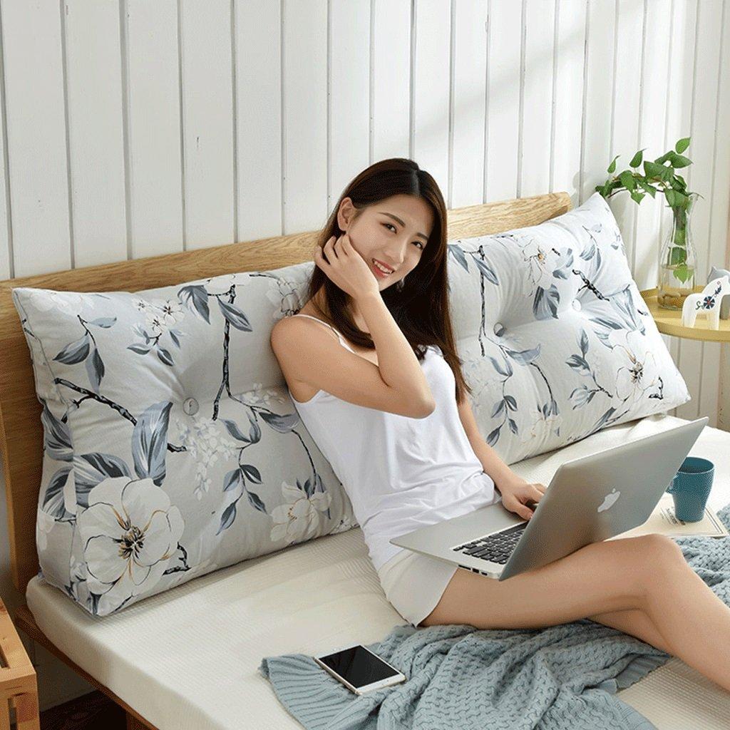 GXY Doppel-Taillenbett Kopfteil Softpack Tatami Bett Kissen Kissen (Farbe : T, größe : 120cm)