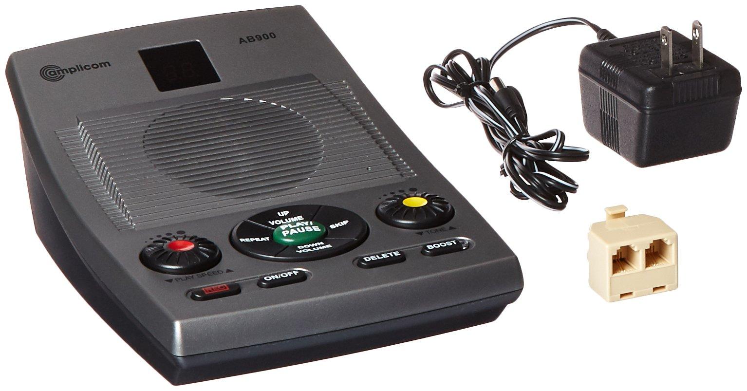 Amplicom AB900 Amplified Answering Machine Landline Telephone Accessory by Amplicom