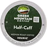 Green Mountain Coffee Medium Roast K-Cup for Keurig Brewers, Half-Caff Coffee (Pack of 96)