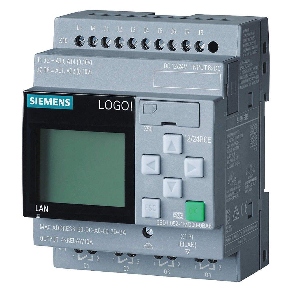Siemens Logo!12//24RCE,LOGIKMODUL