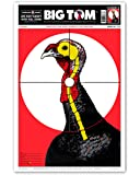 "Life Size Turkey - Paper Shotgun Patterning Shooting Targets 12.5""x19"""