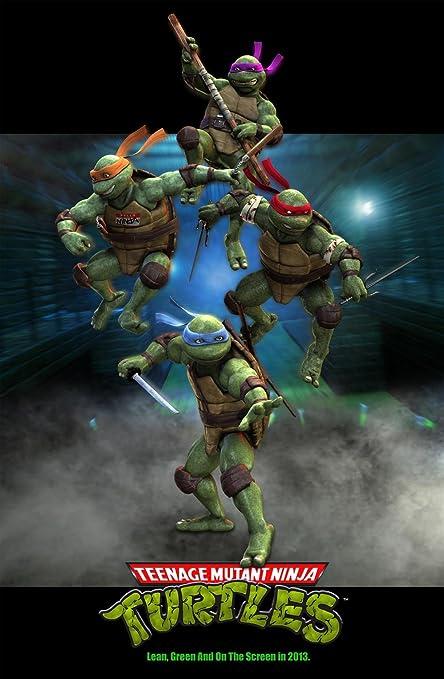 Amazon.com: Teenage mutant ninja turtles 2016 movie poster ...