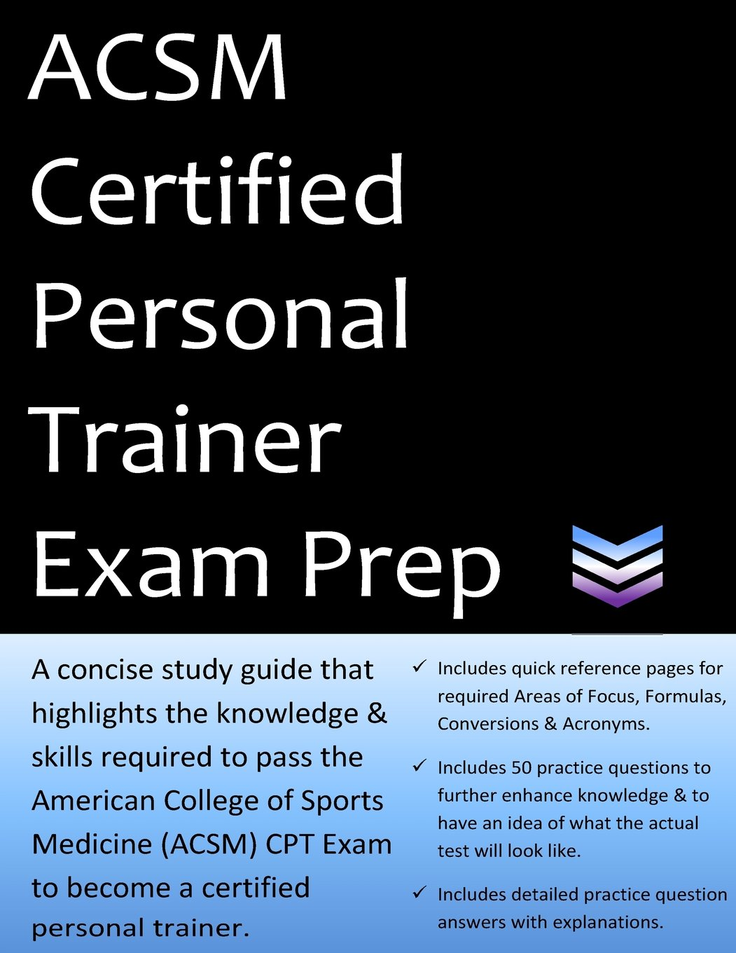 Buy Acsm Certified Personal Trainer Exam Prep 2018 Edition Study