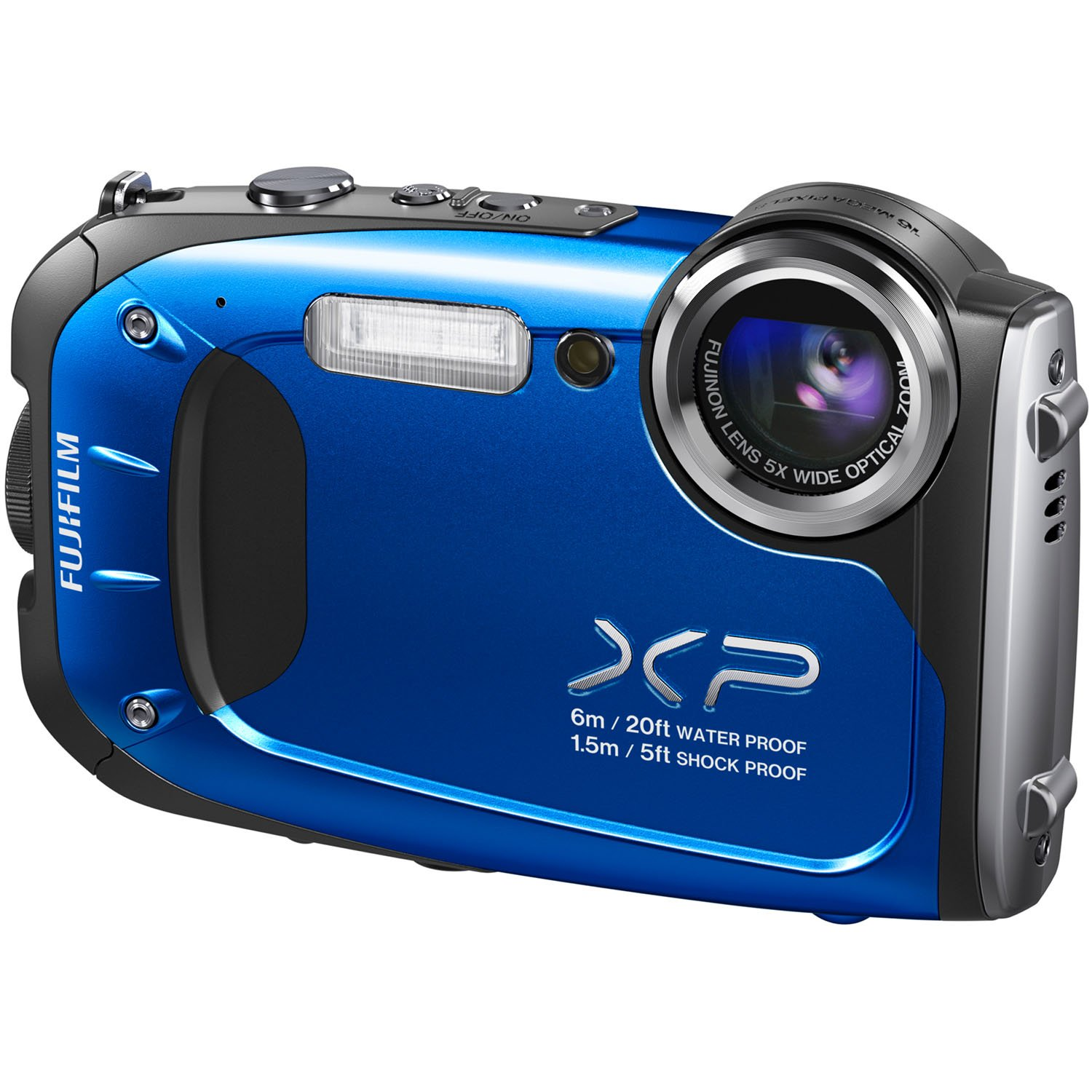 Fujifilm FinePix XP60 16.4MP Digital Camera with 2.7-Inch LCD (Blue) (Discontinued by Manufacturer) by Fujifilm (Image #2)