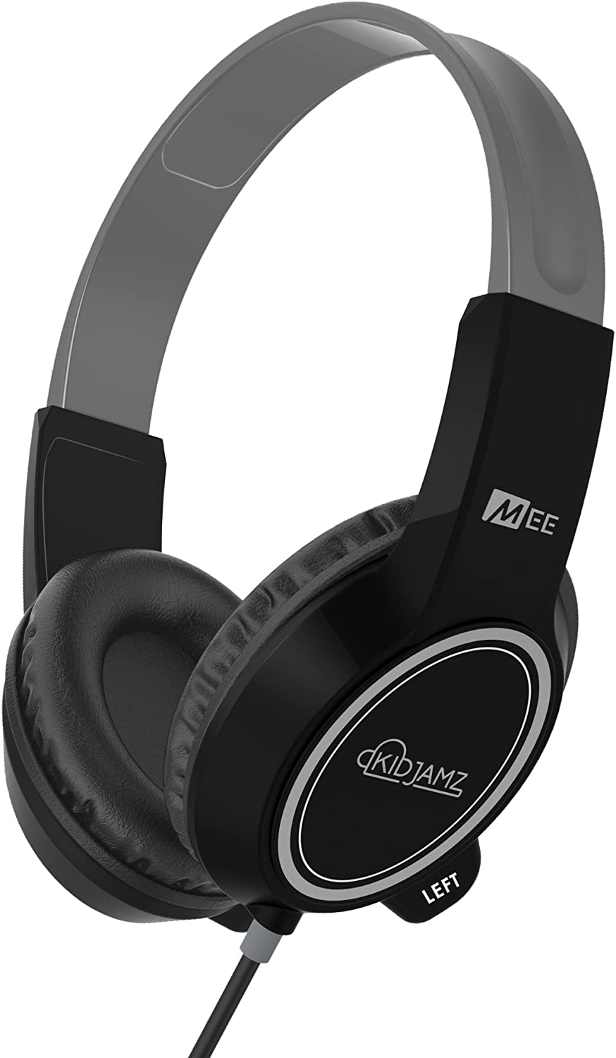 MEE audio KidJamz 3 Child Safe Headphones for Kids with Volume-Limiting Technology (Black) (HP-KJ35-BK-MEE)