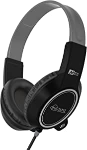 MEE audio KidJamz 3 Child Safe Headphones for Kids with Volume-Limiting Technology (Black)