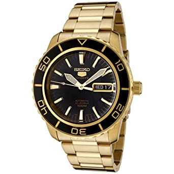 Seiko Reloj Analógico Automático para Hombre con Correa de Acero Inoxidable - SNZH60K1: Seiko: Amazon.es: Relojes