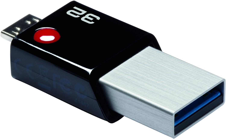 Amazon.com: PENDRIVE 32 GB USB 3.0/MicroUSB 2.0 T203 OTG ...