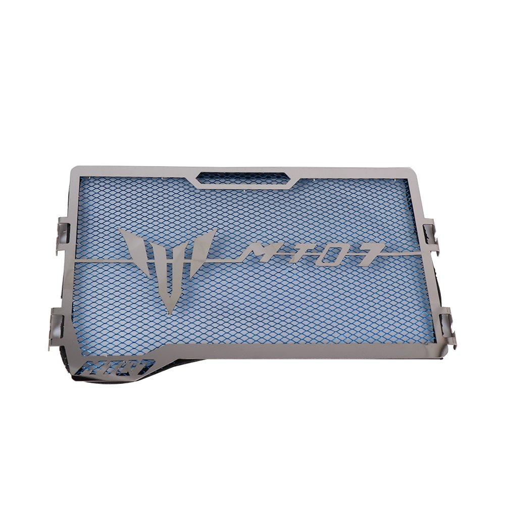 MT 07 Protection Radiateur Grille de radiateur pour yamaha MT07 MT-07 2013 –  2016 bleu Issyzone