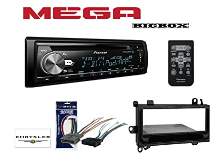 Amazon.com: PIONEER DEH-S6000BS SINGLE DIN BLUETOOTH HD RADIO CD AM on