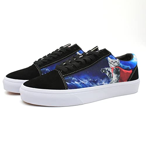 97b162e0469f1c The Amazing Cat Nebula Men s Skate Shoes Casual Skateboarding Shoes (9 D(M)