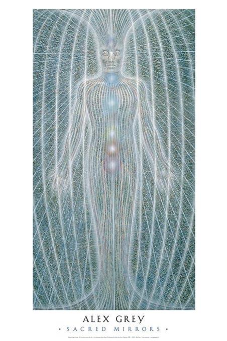 Alex Grey - Spiritual Energy System - Poster