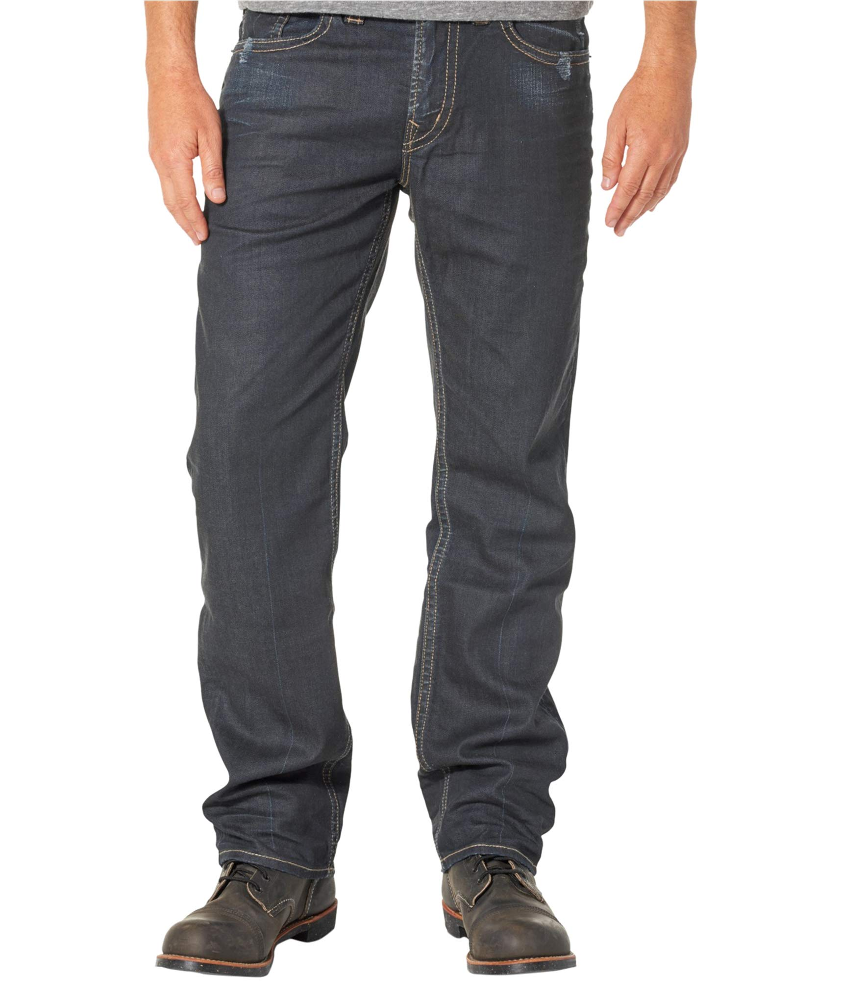 bc7ba47b66c Silver Jeans Co....... Men s Grayson Easy Fit Straight Leg Jeans ...