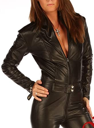 Skin Tight Leather Suit
