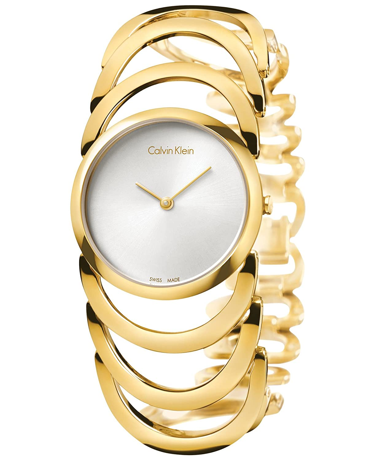 Calvin klein ladies rose gold watch