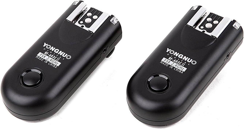YONGNUO Wireless Shutter Release & Flash Trigger RF-603II C1 for Canon DSLR 1100D / 1000D / 600D / 550D / 500D / 450D / 400D / 350D / 300D / 60D/70D
