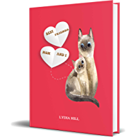 BEST FRIENDS MOM AND I: Journal Mothers Gift ,hand drawn cute cats,red cover, Perfect Gift For Mom ,160 pages(6 x9),Paperback ,February 15, 2020 (English Edition)