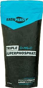 Triple Super Phosphate 0-46-0 Easy Peasy Plants 99% Pure (2lb)