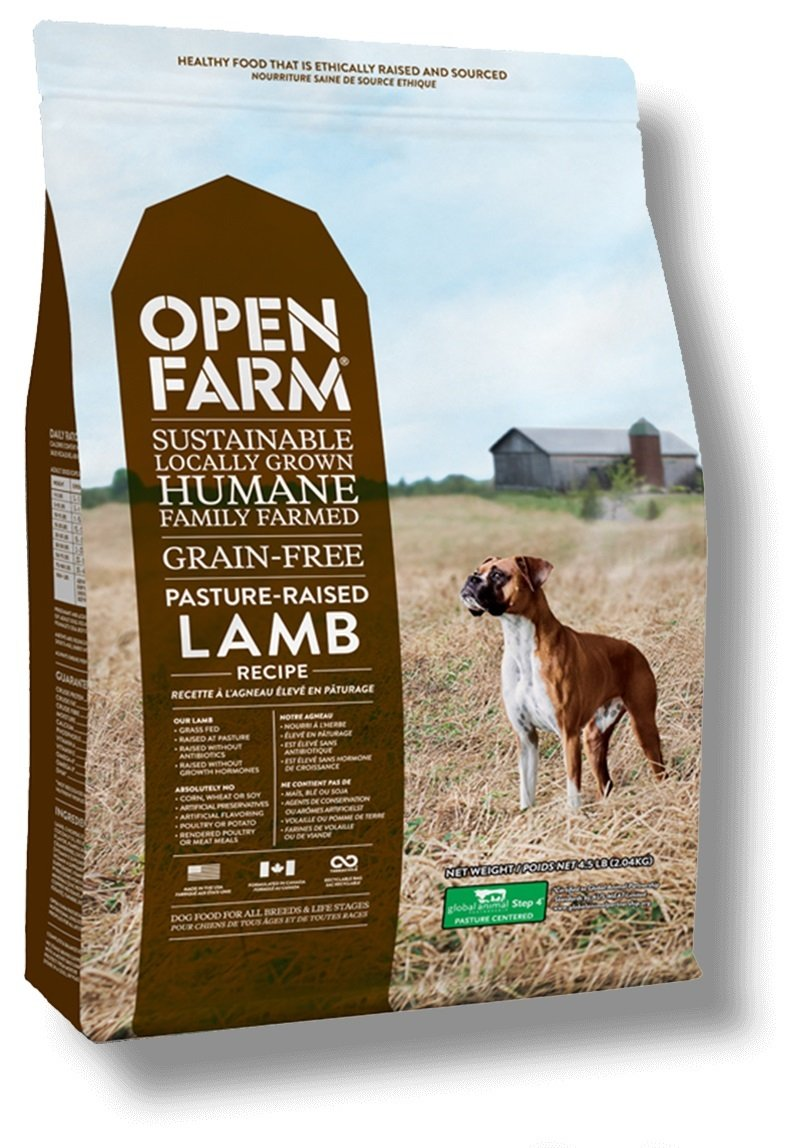 Open Farm Pasture-Raised Lamb Grain-Free Dry Dog Food 4.5 pounds