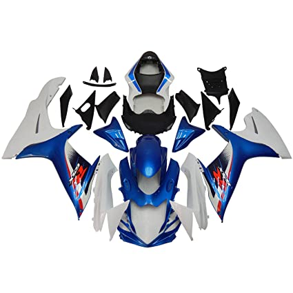Amazon com: NT FAIRING Blue White Injection Mold Fairings Fit for