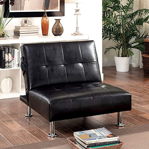 Porch Den Modern Tufted Convertible Chair - the best living room chair for the money