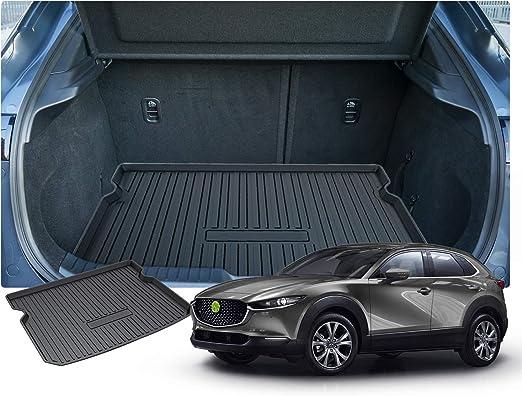 Ruiya Mazda Cx 30 Kofferraumwanne Kofferraummatte Schalenmatte Angepasst Cargo Liner Hinten Schwarzer Auto