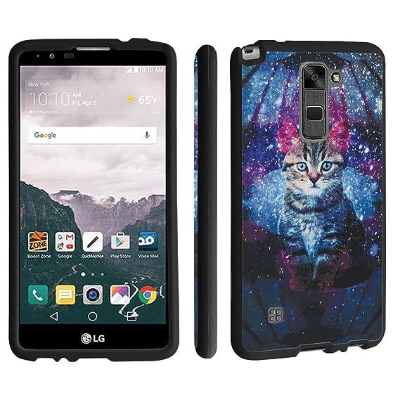 premium selection 55510 8d9ae LG Stylo 2 Case / LG Stylus 2 Case, DuroCase ® Hard Case Black for LG Stylo  2 LS775 / LG Stylus 2 K520 (Released in 2016) - (Space Cat)