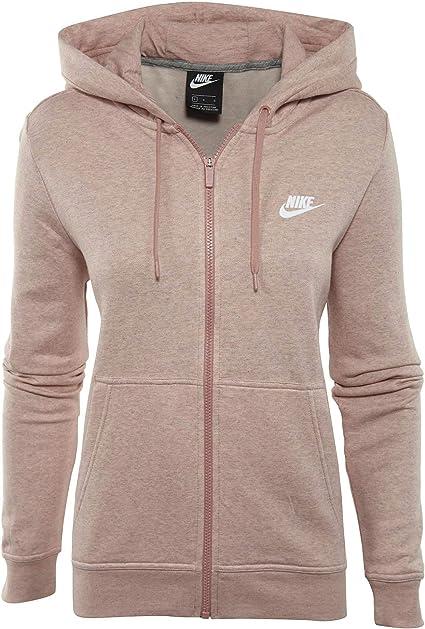 Nike Pantalon de Sport en Polaire à Fermeture Éclair Sweat à