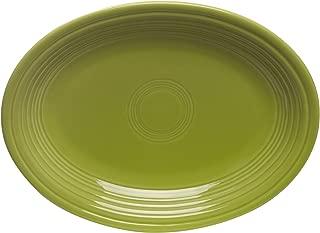 product image for Fiesta 9-5/8-Inch Oval Platter, Lemongrass