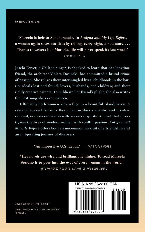 Antigua and My Life Before: A Novel: Marcela Serrano