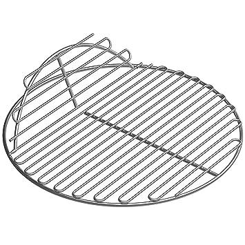 SELEWARE SUS304 rejilla redonda de acero inoxidable con bisagras reemplazo de rejilla de cocina para gran