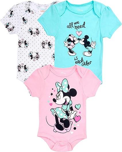 Minnie Baby Girls Bodysuit
