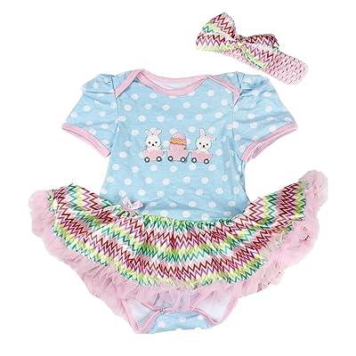 Petitebelle - Body - Bébé (fille) 0 à 24 mois multicolore Multicoloured 0-3  mois b3124648016