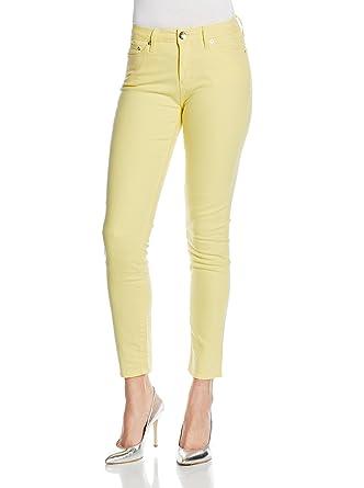 Love Moschino - Jeans - Femme Jaune jaune 40 42  Amazon.fr ... dd34258e94e