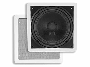 amazon com monoprice 104928 10 inch passive in wall subwoofer home rh amazon com Dual 2 Ohm Subwoofer Wiring 4 Ohm Subwoofer Wiring Diagram