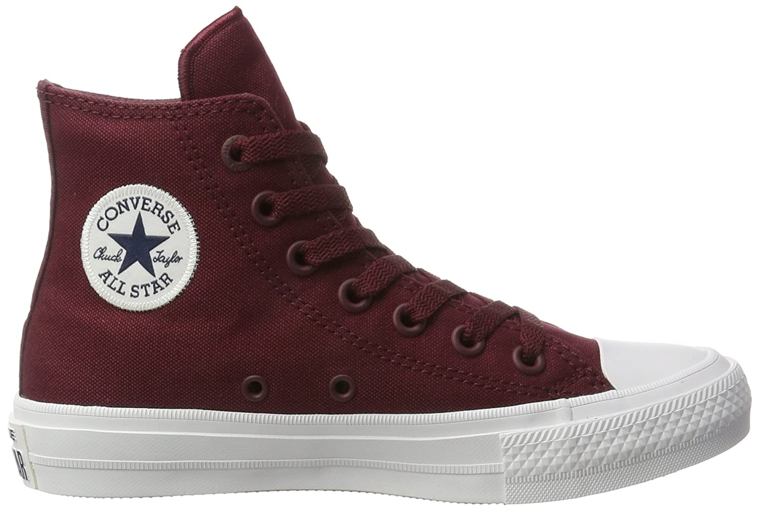 Converse Chuck Taylor All Star II Deep Bordeaux 8 B(M) US Women   6 D(M) US  Men  Amazon.in  Shoes   Handbags 97c7ae9e4