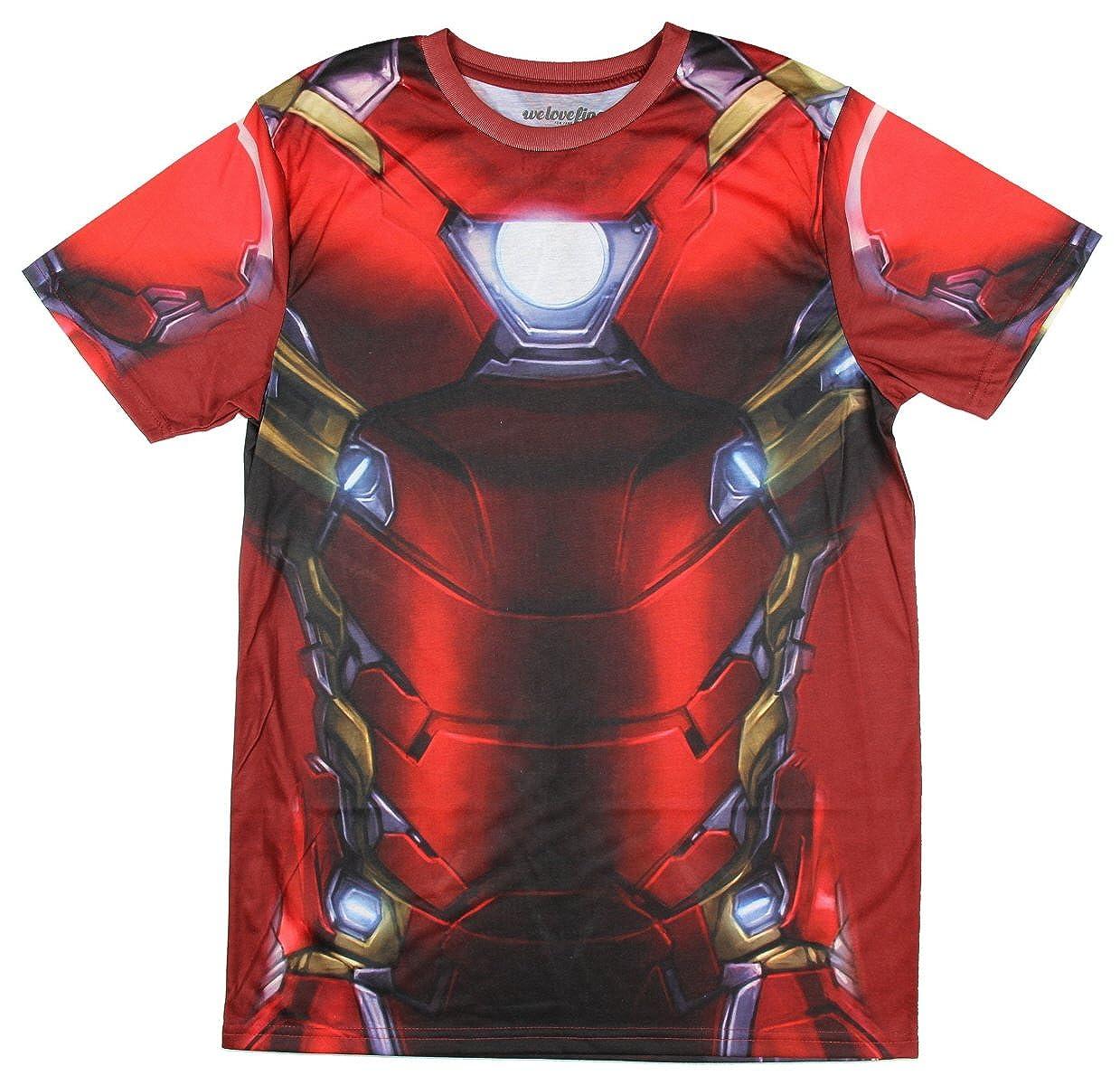 Marvel Comics Captain America Civil War I Am Iron Man Mens Costume T-Shirt