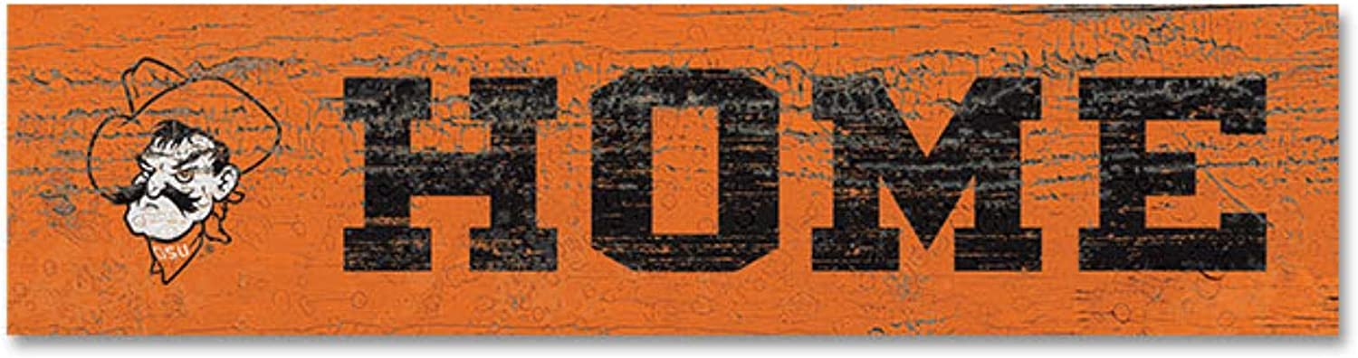 Wood NCAA Legacy Oklahoma State Cowboys Plank Stick Magnet One Size