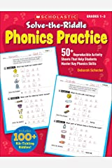 Solve-the-Riddle Phonics Practice: 50+ Reproducible Activity Sheets That Help Students Master Key Phonics Skills Paperback
