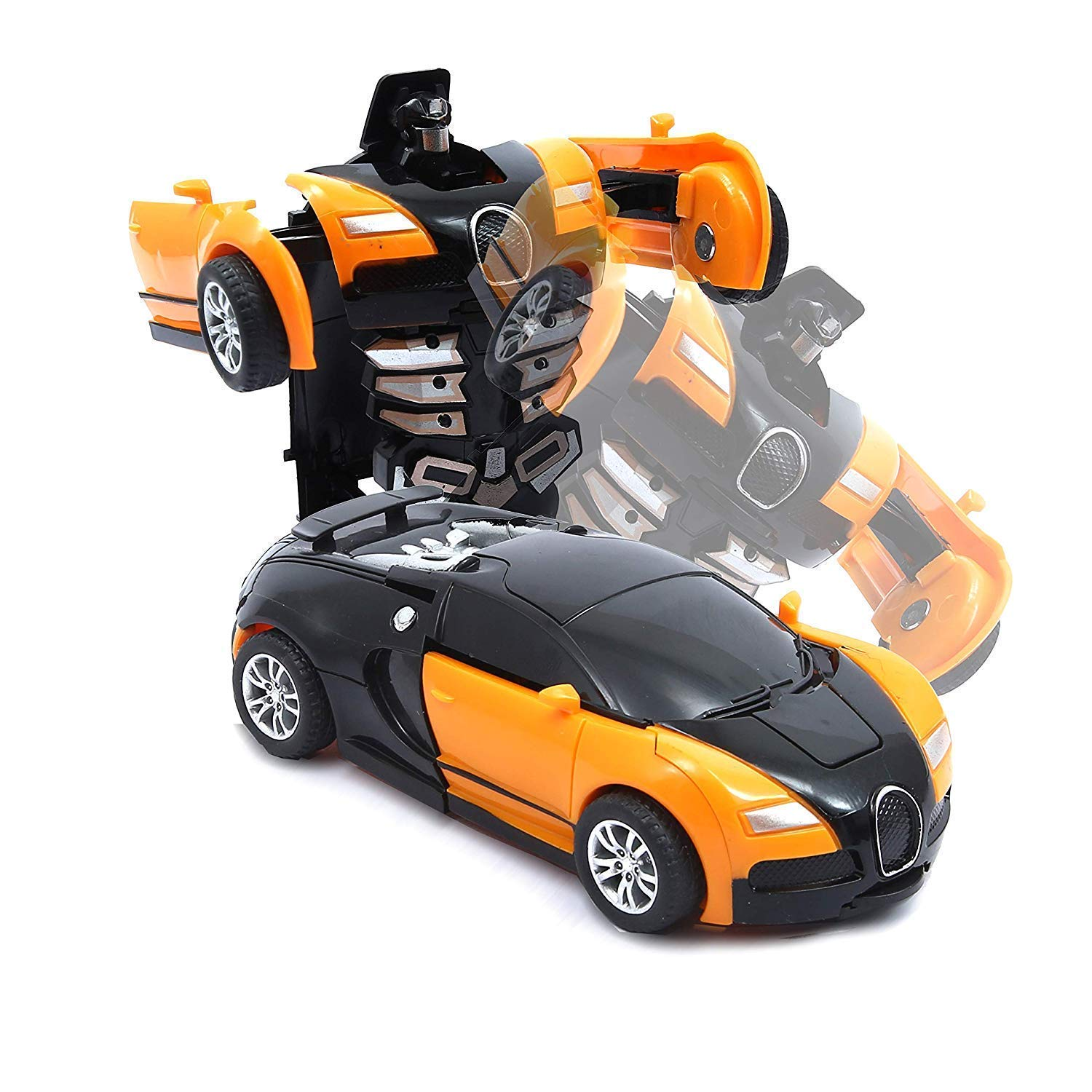 transformer car toy  Robot and  race car 2 in 1
