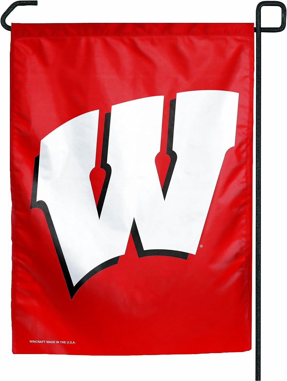 NCAA Wisconsin Badgers Garden Flag
