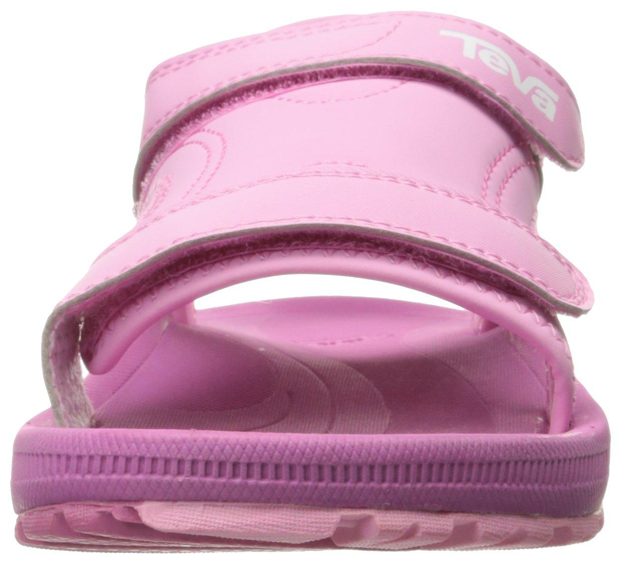 Teva Girls' Psyclone 4 Sandal, Pink, 1 M US Little Kid by Teva (Image #4)