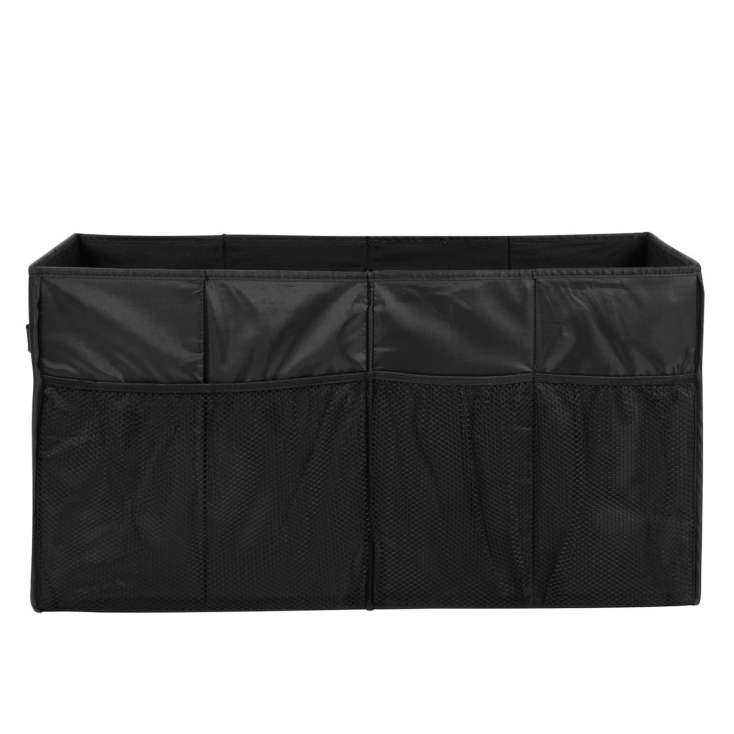 MaidMAX Car Trunk Organizer for SUV with Two Handles and Side Pockets, Foldable, Black, 25.5 Inches Long by MaidMAX (Image #5)