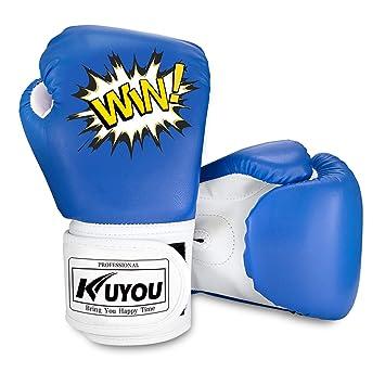 Kinder Boxhandschuhe 4oz Kinder Cartoon Sparring Boxhandschuhe Training Mitts Junior Punch PU Leder Alter 5–12 Jahre