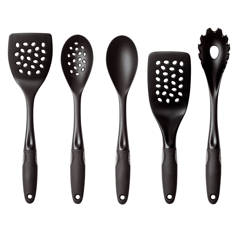 Amazon.com: OXO Good Grips 5 Piece Nylon Tool Set: Kitchen Tool Sets:  Kitchen U0026 Dining