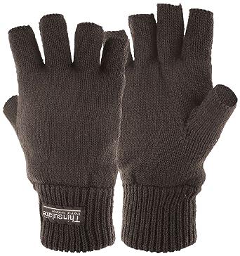 Highlander Stayner - Guantes cortos térmicos negro negro Talla:small